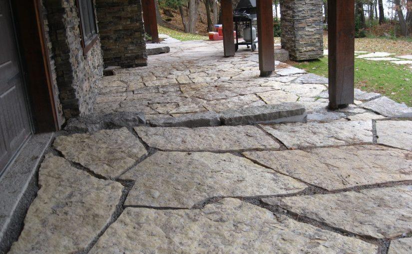 Limestone Patios