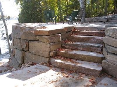 Granite Stairways